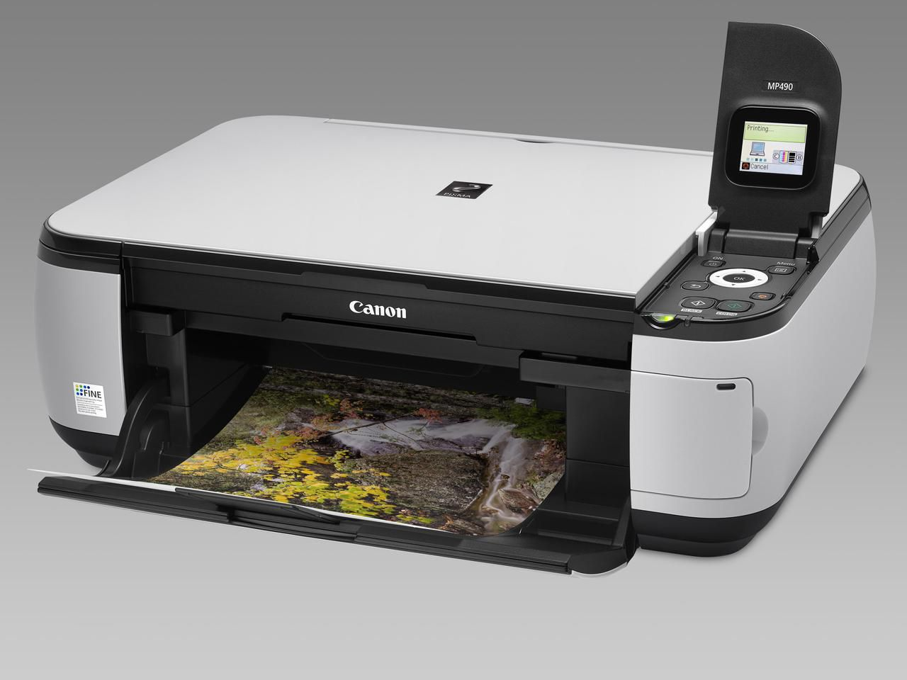 Great Photos Canon's Pixma MP490 All-in-One Printer