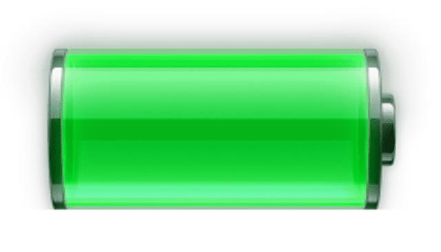 Screenshot of the iPhone Battery Windows 7 gadget