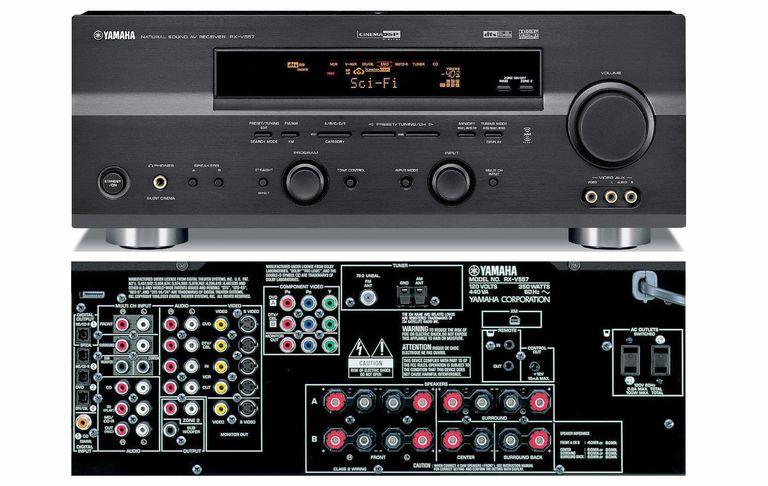 Yamaha RX-V557 Home Theater Receiver