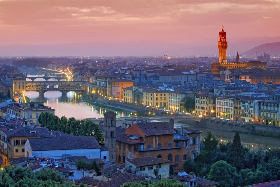 Florence, Italy is filled with historic sites and artistic treasures.