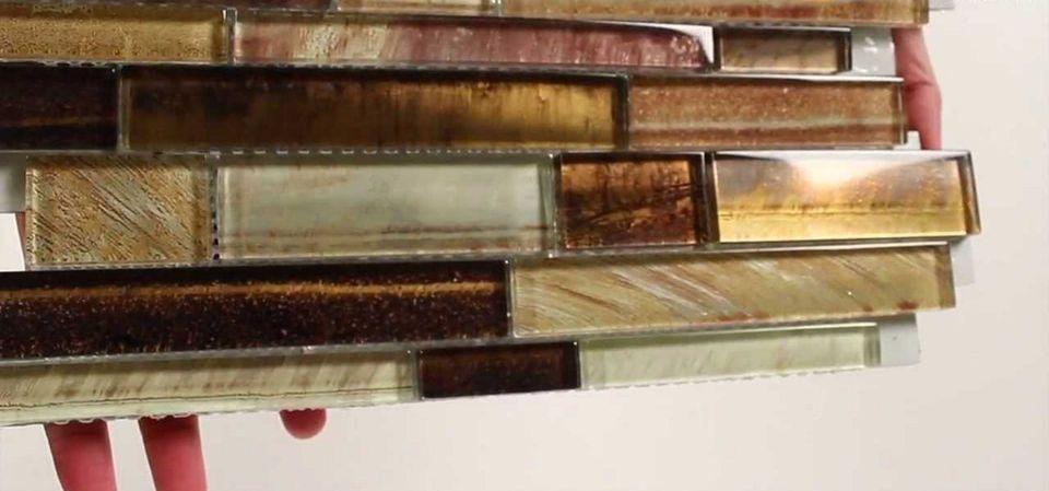 Mineral Tiles Backsplash