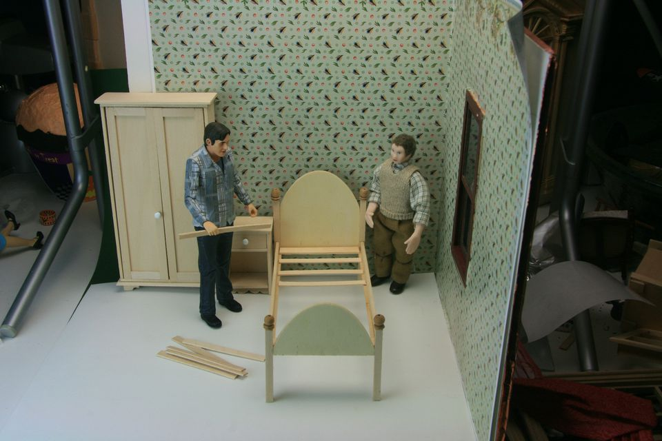 how to make miniature furniture. instructions for dollhouse bedroom furniture projects how to make miniature