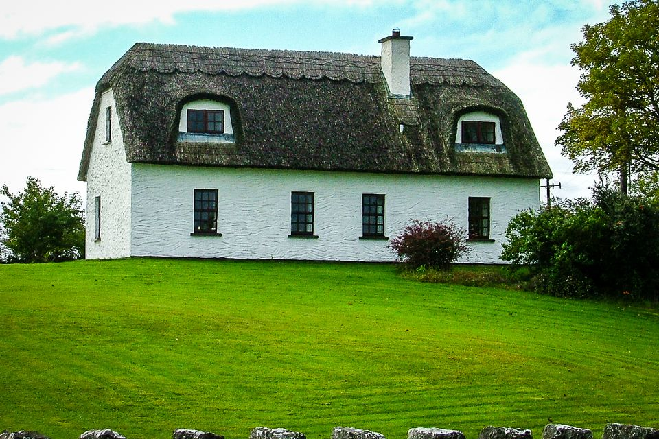 "Irish holiday home - large, but built with a ""traditional"" look"