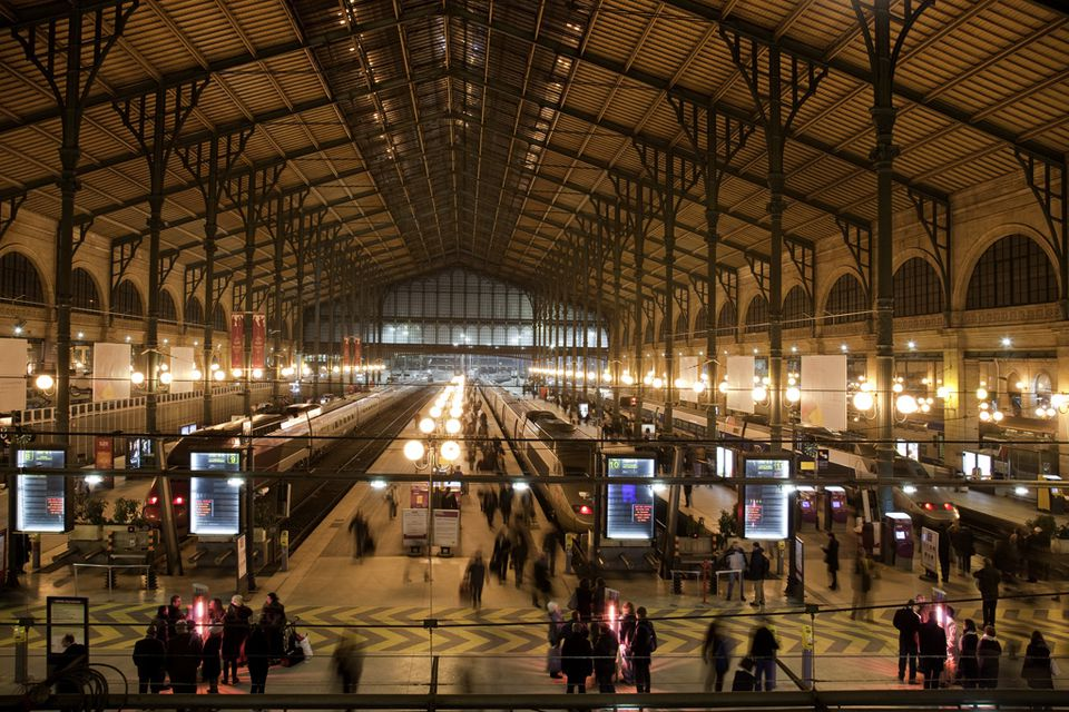 Guide to major train stations in paris - Office tourisme italien a paris ...