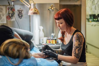 Tattoo and Piercing Friendly Jobs and Career Fields