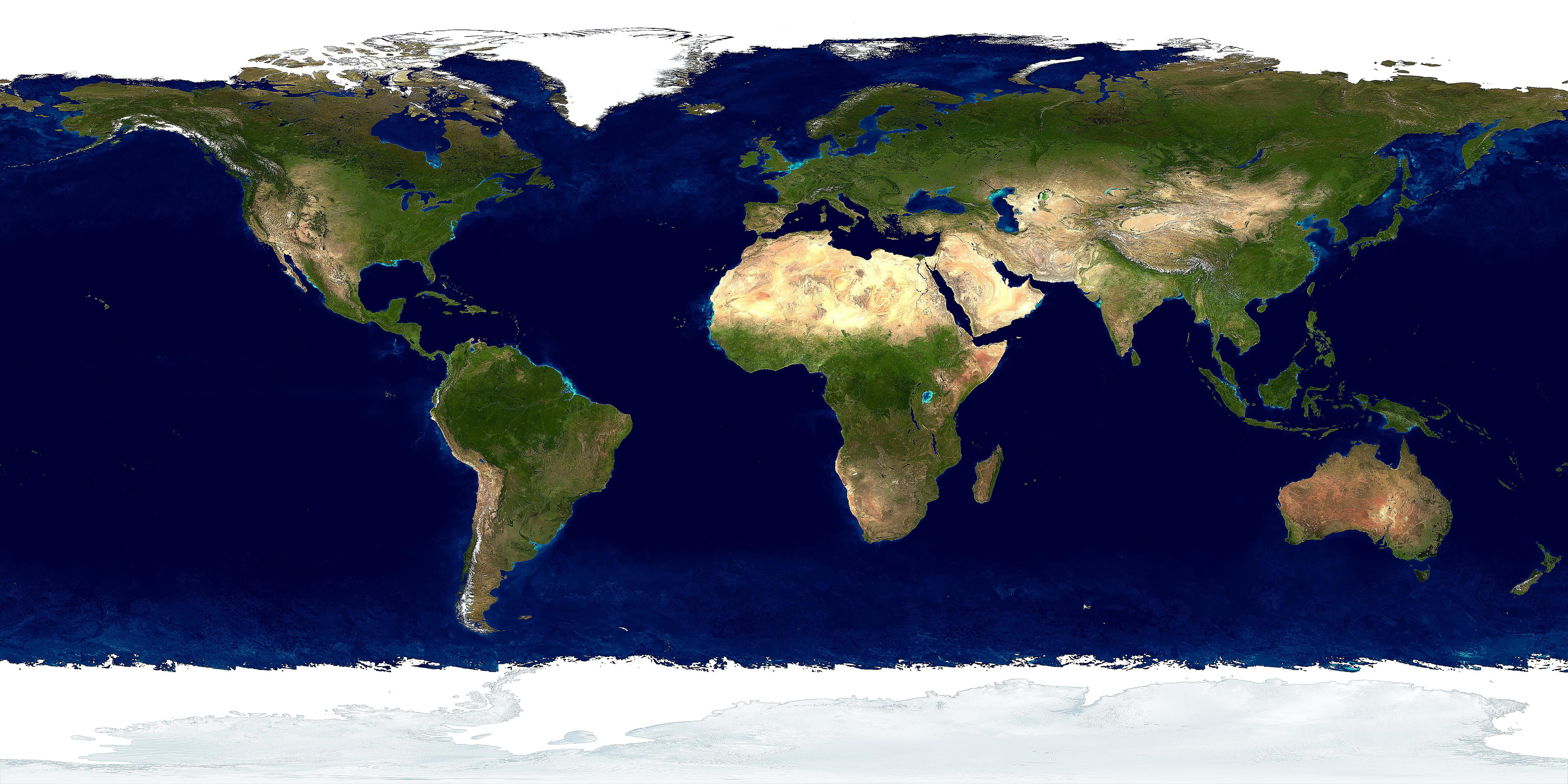 The 7 continents ranked by size and population panoramic image of earth gumiabroncs Gallery