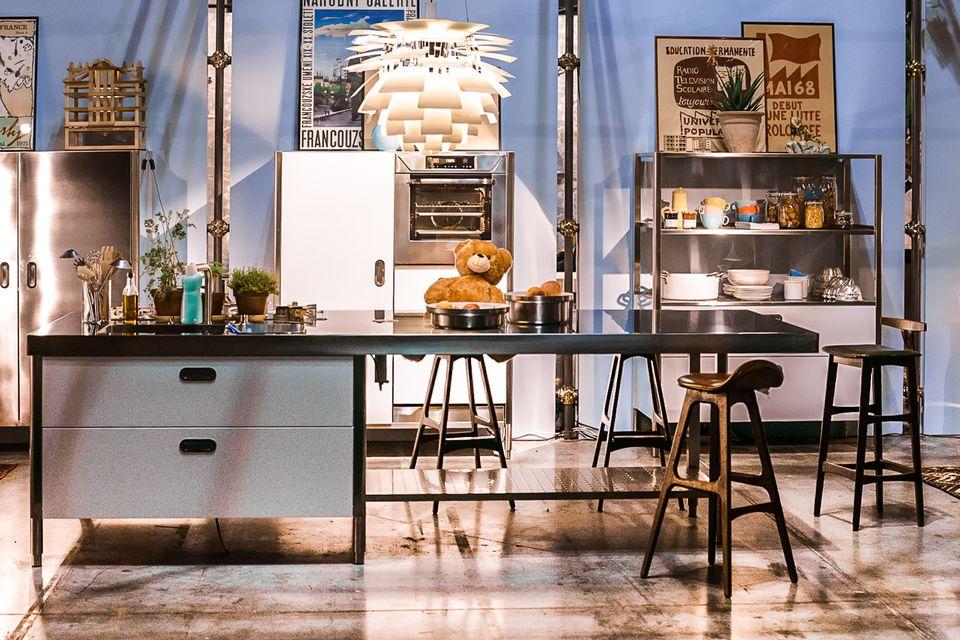 Trendy kitchen fixtures