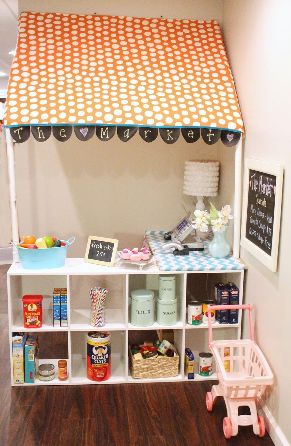 DIY Grocery Store Play Set