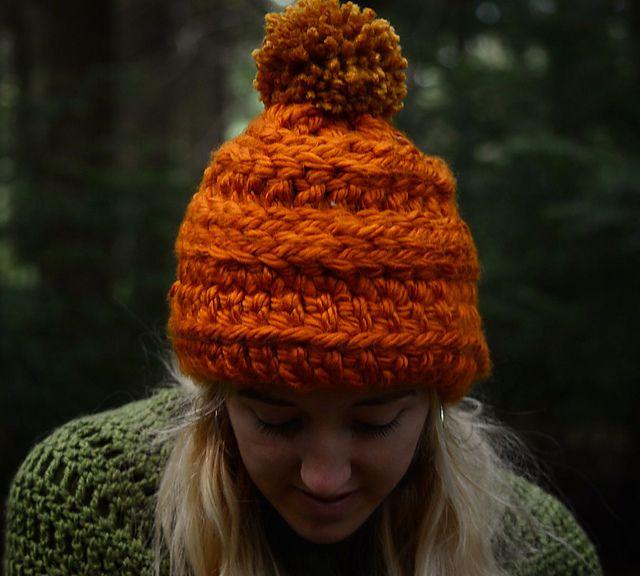 Chunky Winter Crochet Hat Pattern