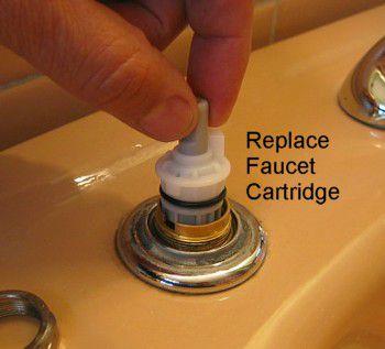 Repair A Two Handle Cartridge Faucet