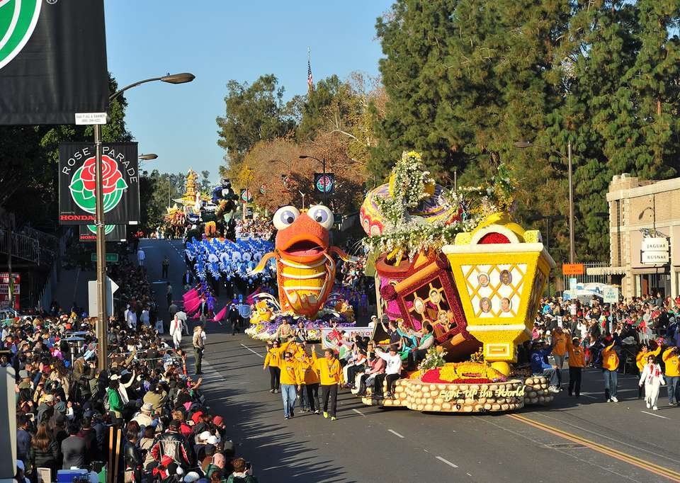 Rose Parade in Pasadena
