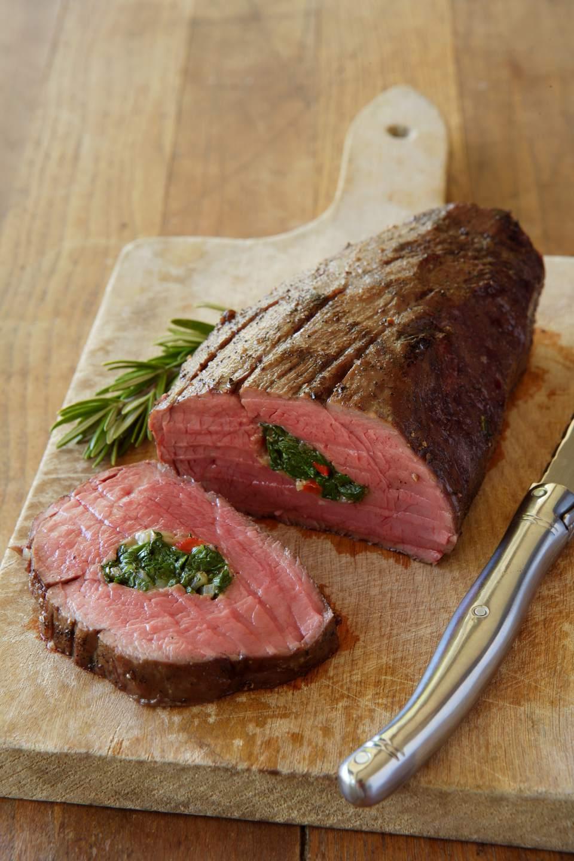 Stuffed Beef Tenderloin