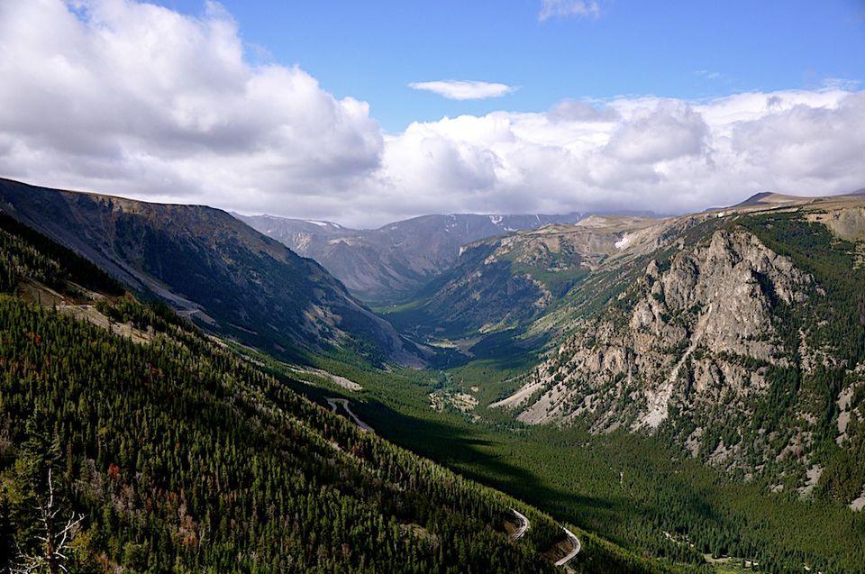 Beartooth Highway, Montana