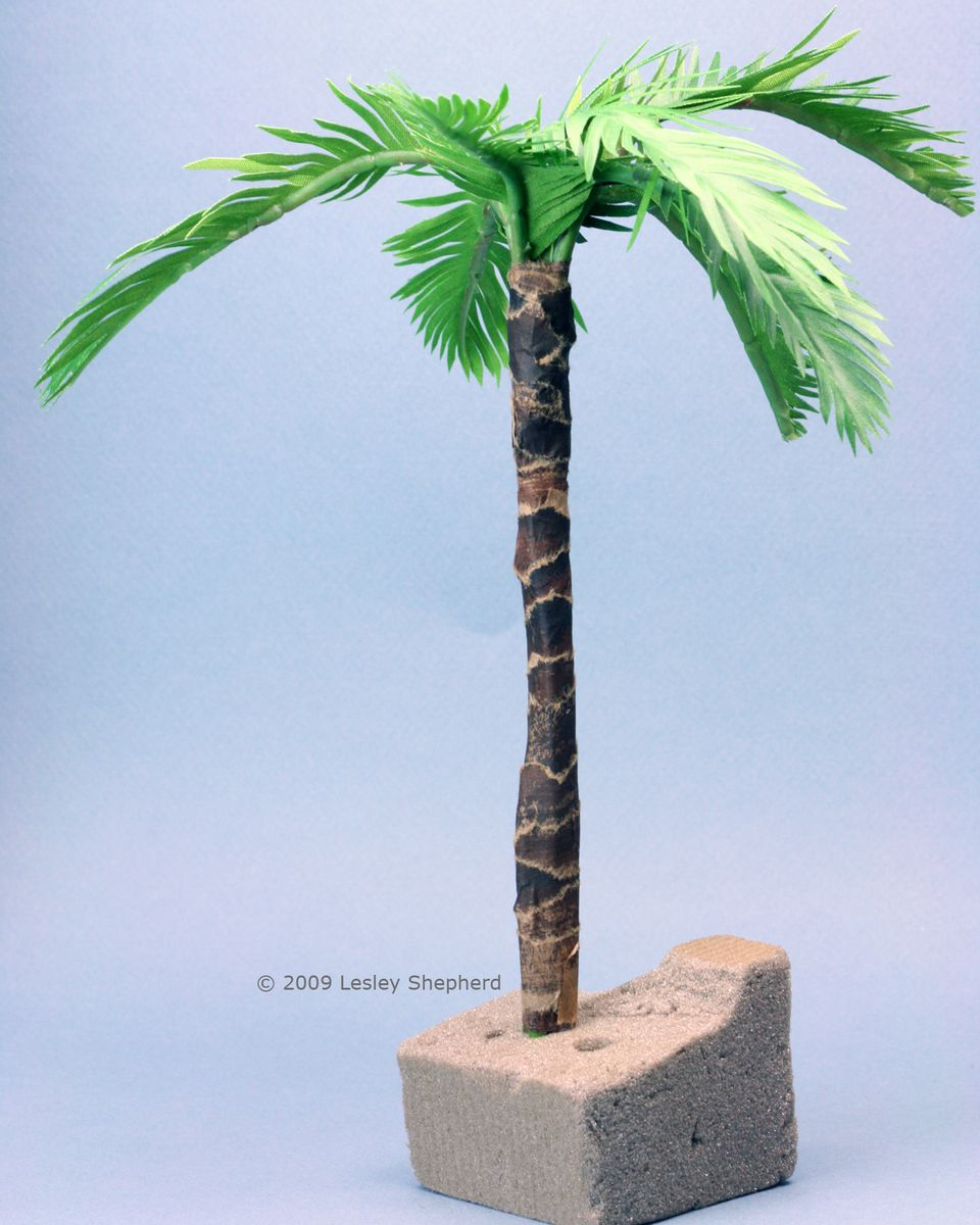 make tiny realistic palms from paper or fabric. Black Bedroom Furniture Sets. Home Design Ideas
