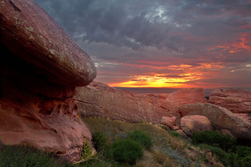 Sunrise Red Rocks