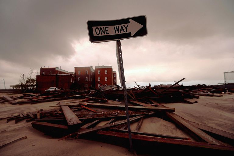 Sandy destruction in Atlantic City