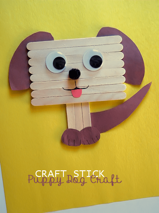 Dog Themed Crafts For Preschoolers