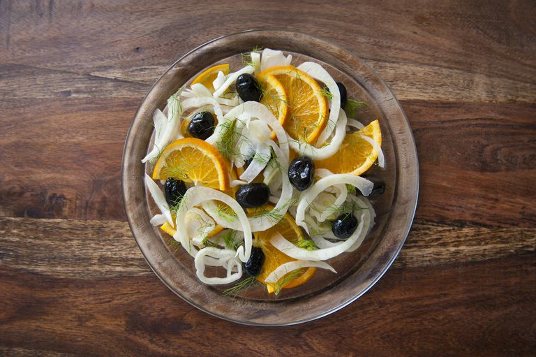 Fennel salad.