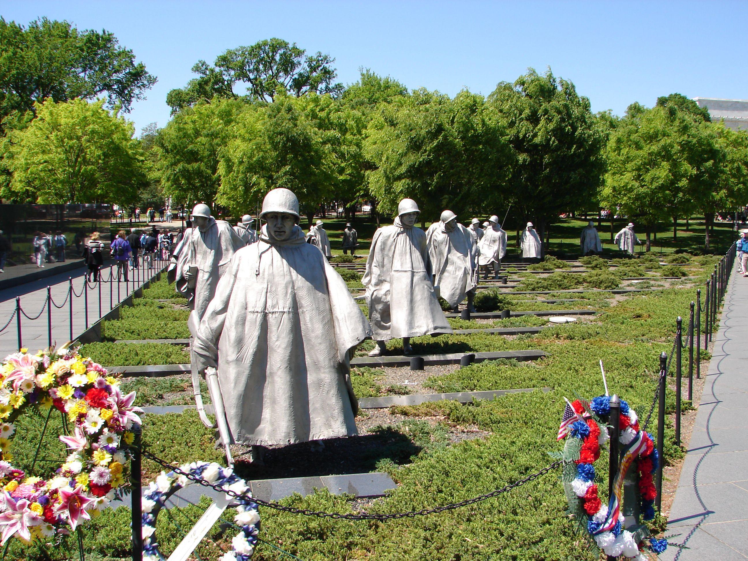 Photos Of The Korean War Veterans Memorial