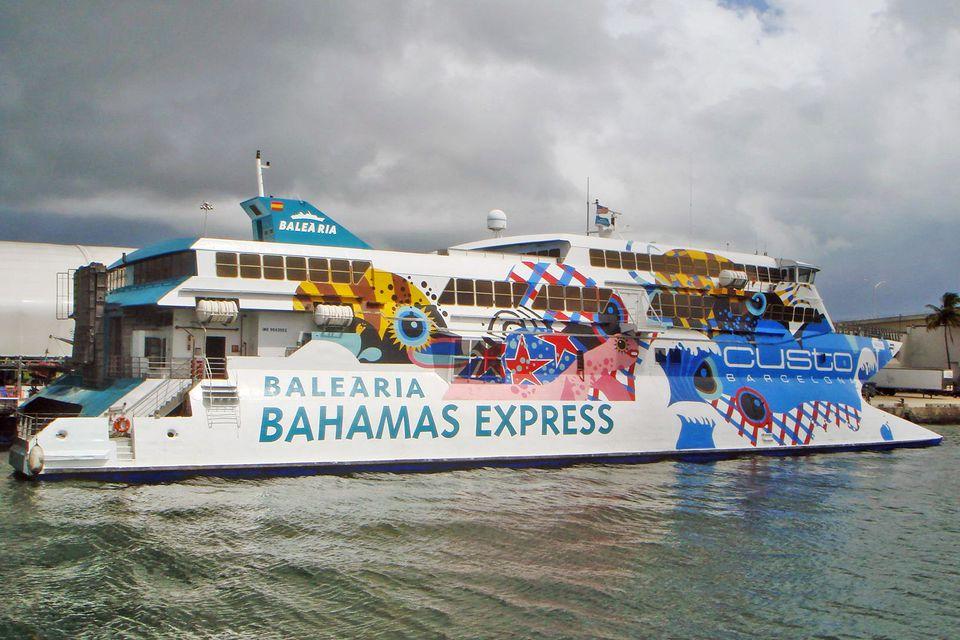 Balearia Bahamas Express ferry