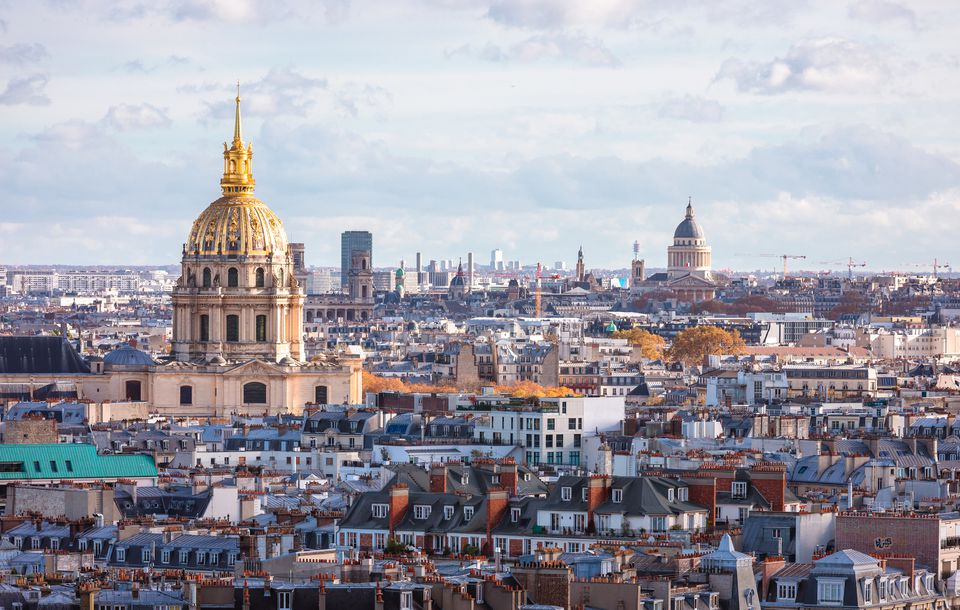 Paris skyline Les Invalides