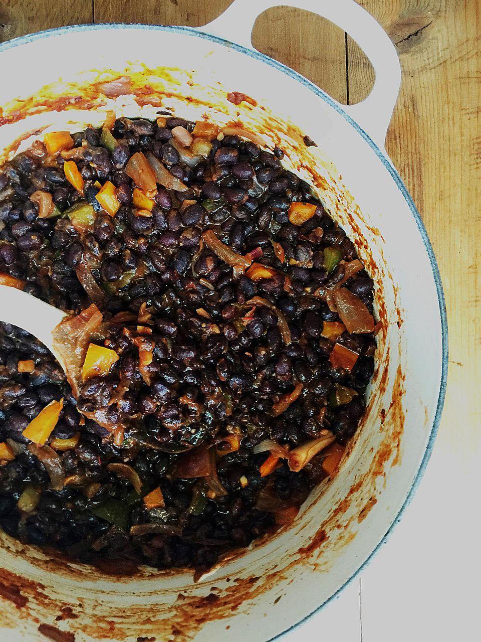 Enchilada-Inspired Black Beans and Rice