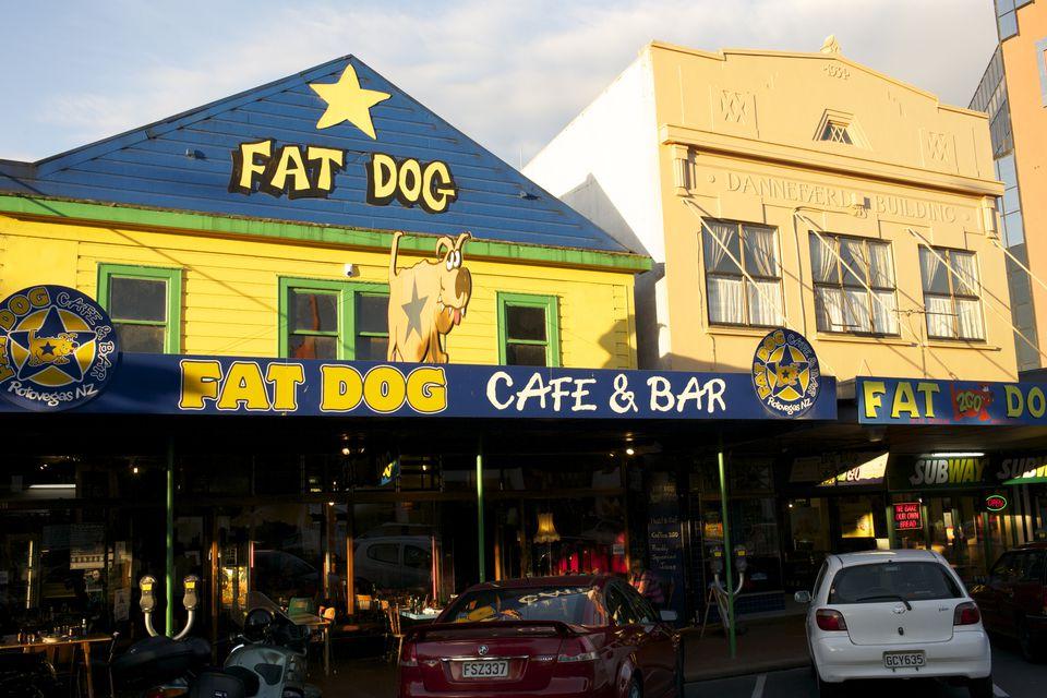Fat Dog Cafe & Bar, Arawa Street.