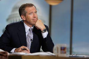 A photo of former NBC Nightly News anchor Brian Williams.
