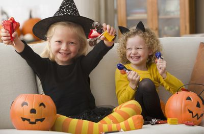 Funny Trick or Treat Sayings to Bring Giggles With the Chills