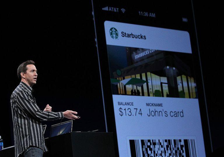 Starbucks on the passbook