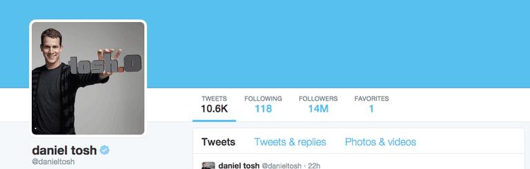 Daniel Tosh Twitter