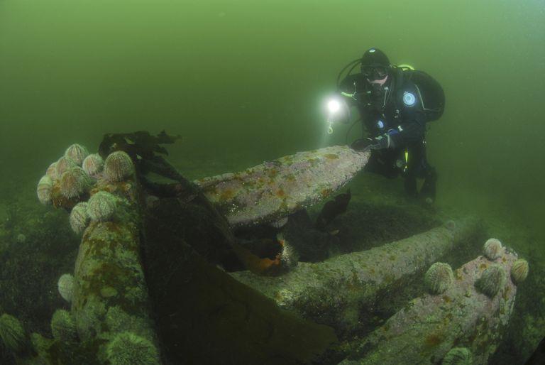 Wreck Diving, Scapa Flow Diving, German Battleship Wreck