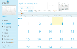 List of the best free online calendars cozi family organizer solutioingenieria Image collections
