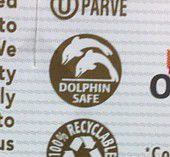dolphin safe tuna emblem