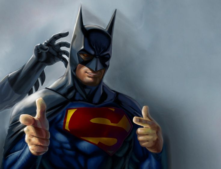 Top 5 times superman dressed as batman voltagebd