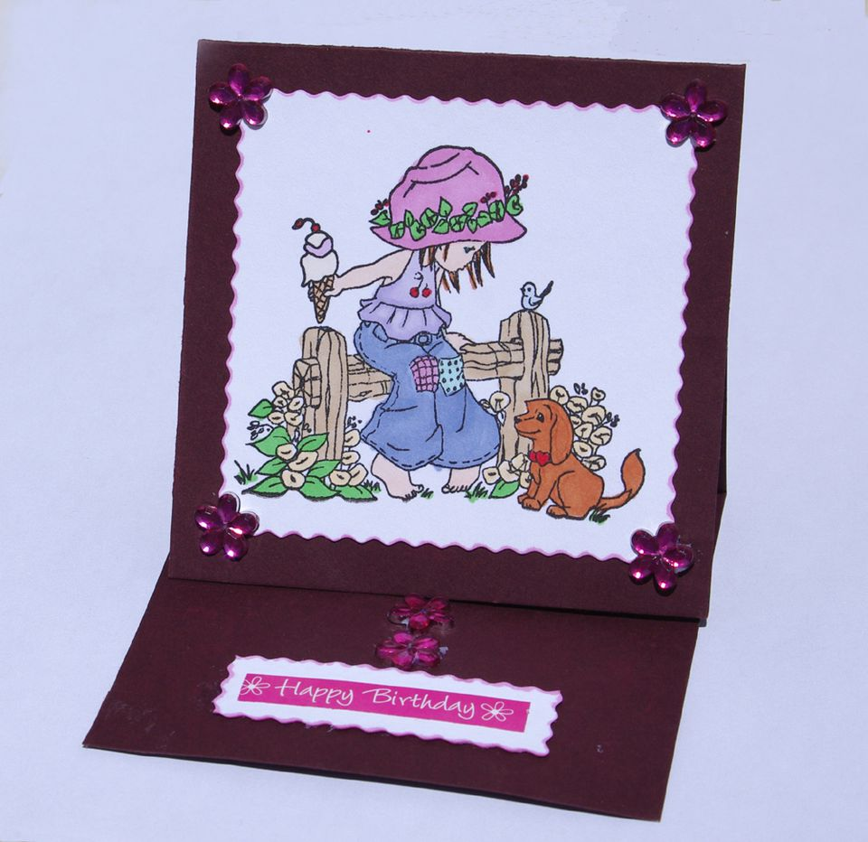 How to Make a Simple Easel Card
