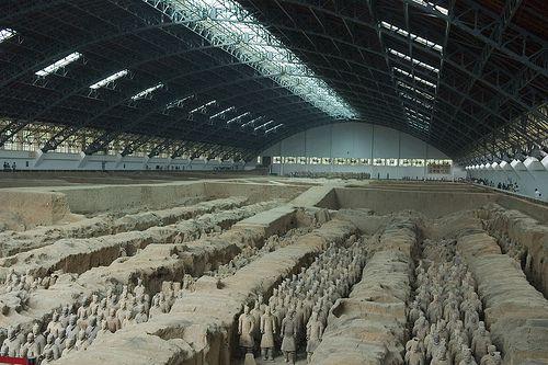Terra Cotta Army Qin Dynasty in Xi'an