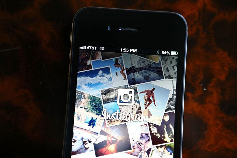 DECEMBER 18: The Instagram logo is displayed on an Apple iPhone on December 18, 2012 in Fairfax, California.