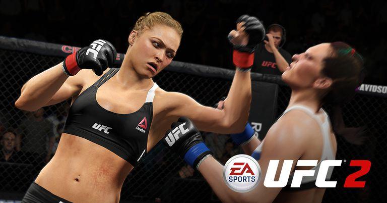 EA Sports UFC 2 screen 1