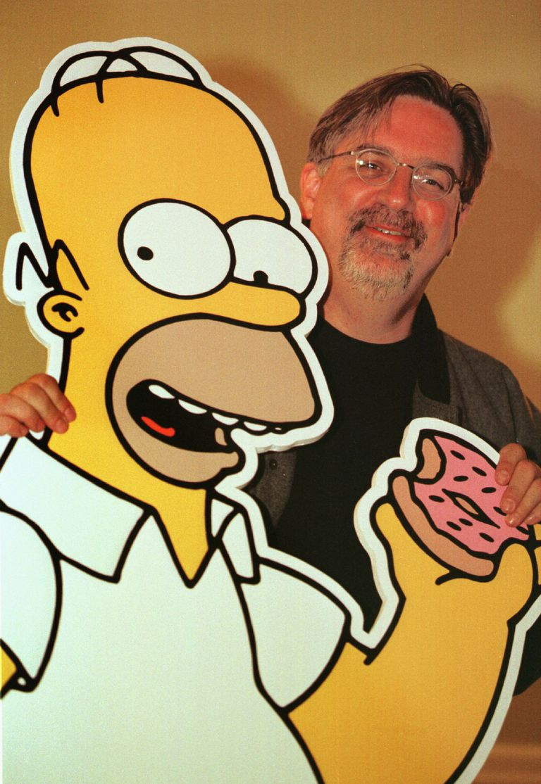 THE CREATOR AND VOICES BEHIND THE SIMPSONS