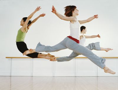 dance warm up routine stretching exercises