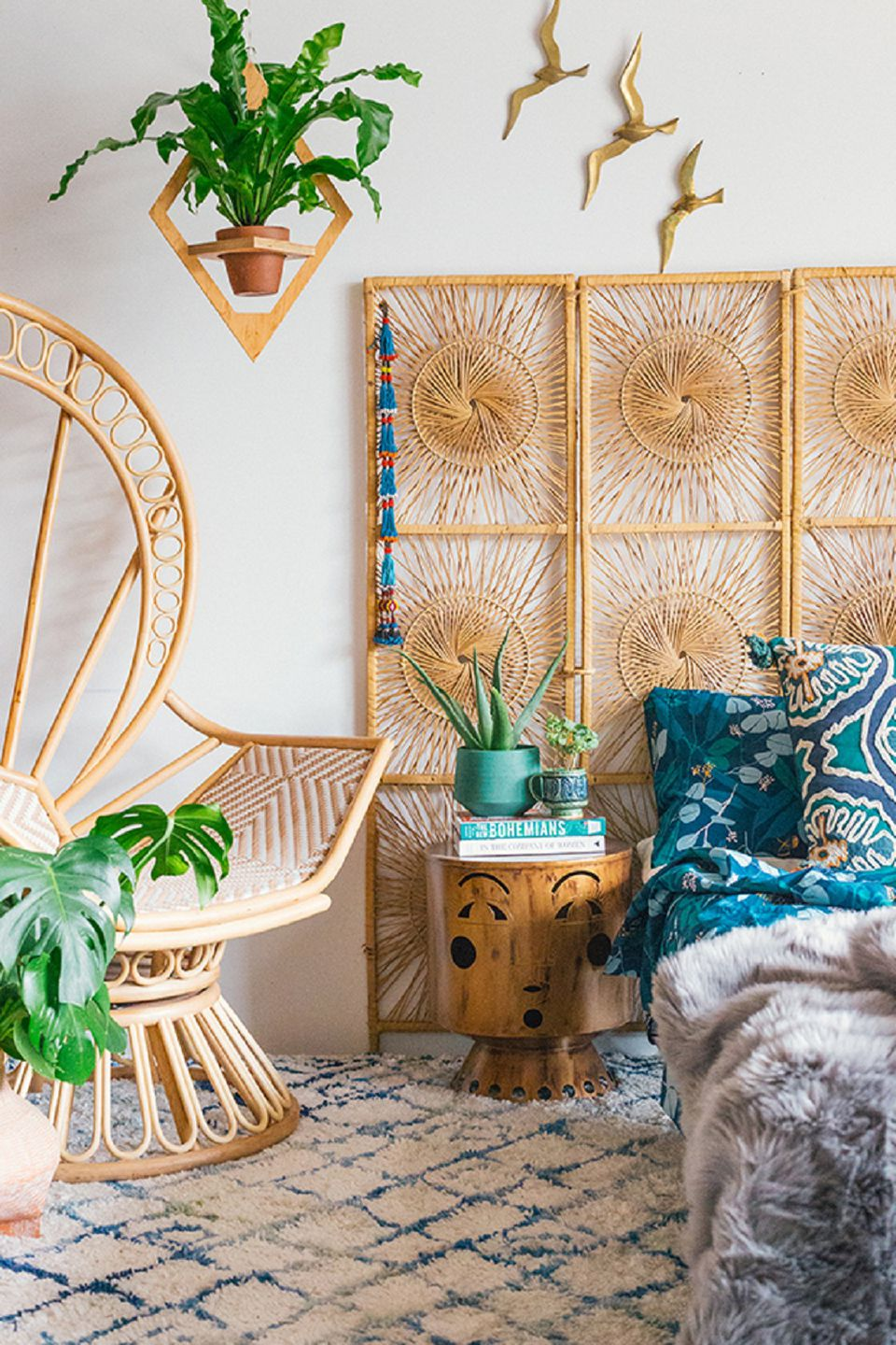 Beautiful Boho Bedroom Decorating Ideas and Photos