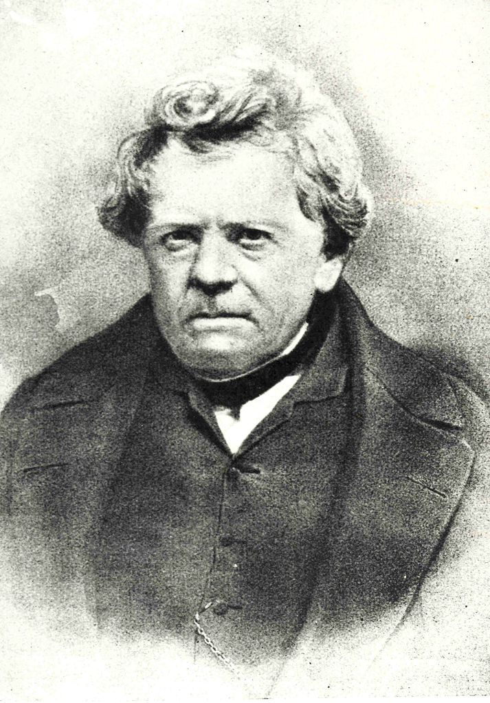 A portrait of Georg Ohm