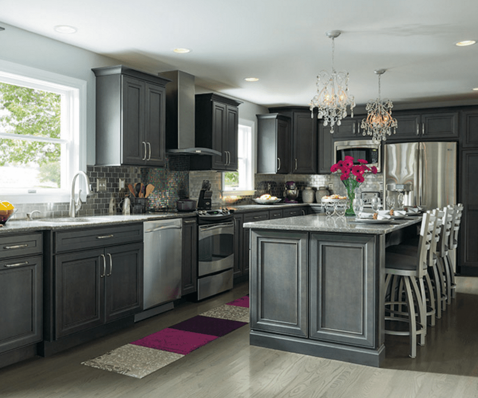kitchen colors with grey cabinets 10 inspiring gray kitchen design ideas 21551