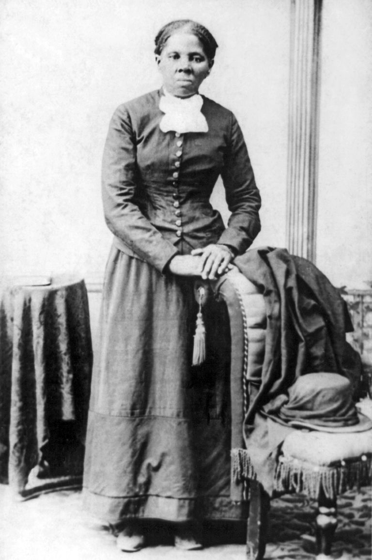 Portrait of Harriet Tubman