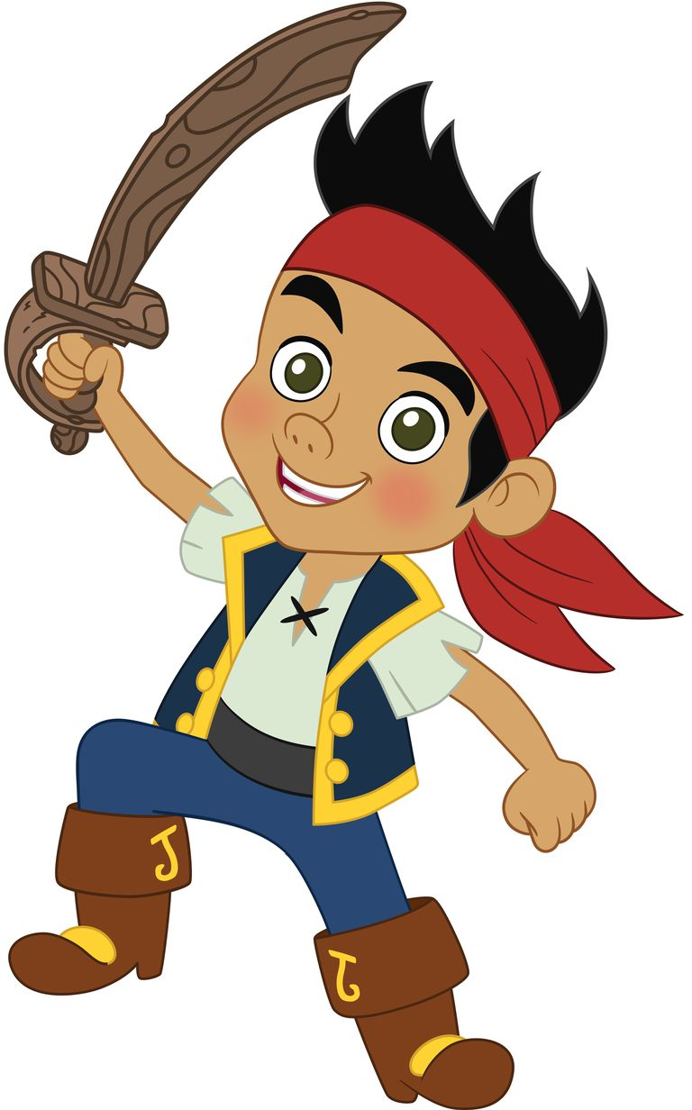 popular characters from jake and the never land pirates