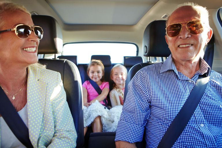 Grandparents who wish to drive their grandchildren in their vehicles must be safety conscious.