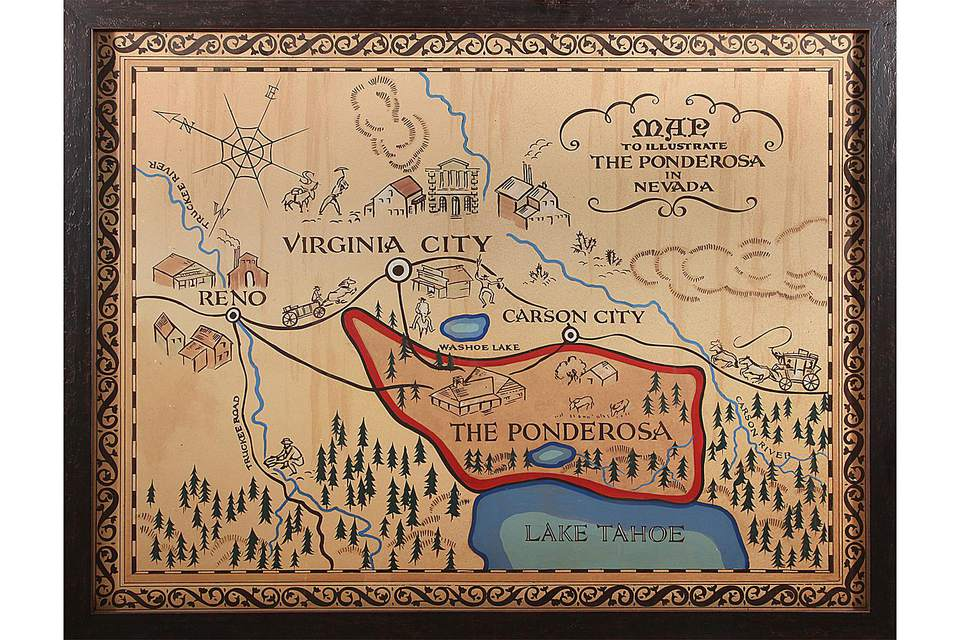 A Map of the Ponderosa
