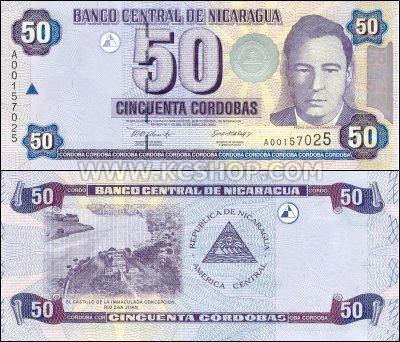 Nicaragua Money: the Nicaragua Córdoba