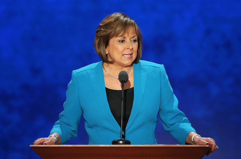 New Mexico Gov. Susana Martinez speaks during the third day of the Republican National Convention at the Tampa Bay Times Forum on August 29, 2012